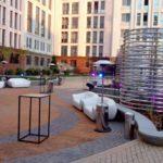 На открытии бизнес-центра задействовали 10 газовых обогревателей «Грибок»