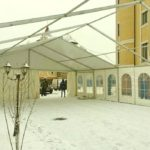 Установка тента «Мультифлекс» площадью 150 квадратных метров