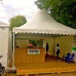 В «Пагоде» разместился ресепшен для проживающих в кампусе ZCAMP