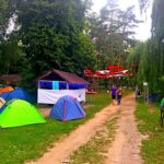 Для преданных поклонников музыки работал палаточный городок ZCAMP