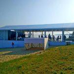 Підготовка шатра для весілля