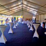 Підготовка VIP-зони на Квартал Фест