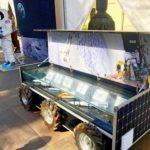 На виставці «Kids on the Moon» демонструвалася техніка для дослідження космосу