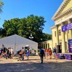 Оренда тенту «Мультіфлекс» площею 240 кв.м. для фестивалю