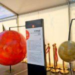 В шатре «Мультифлекс» также разместилась модель солнечной системы