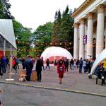 Тент для фестивалю встановили на ВДНГ навпроти павільйону №1