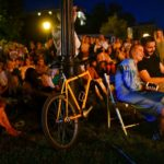 Глядачі отримали справжнє задоволення від живої музики під відкритим небом