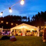 Проведение свадьбы в тенте
