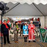 У «Новорічному телемарафоні» взяли участь Дід Мороз і Снігуронька