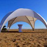 Аренда купольных шатров