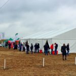 Для мероприятия установили тент «Миди» размером 10х15 метров