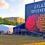 Для главной сцены «Atlas Weekend» установили тент «Ультра» 15х25 м