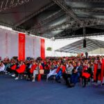Для церемонии открытия «Биофармы» установили шатры «Миди» 10х15 и 10х6 метров