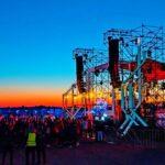 Шатры «Пагода» 5х5 метров использовали на «ZOUND Festival» под гримерки