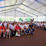 Аренда шатров для выездного лагеря «Зе!Кемп» под Скадовском