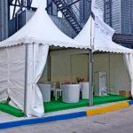 Тенти «Пагода» задіяли для представницьких цілей