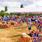 Для фестивалю змонтували понад 1400 кв. м. тентів