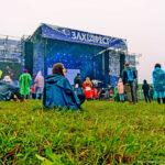 Білий тент 240 квадратних метрів на музичному фестивалі під Львовом